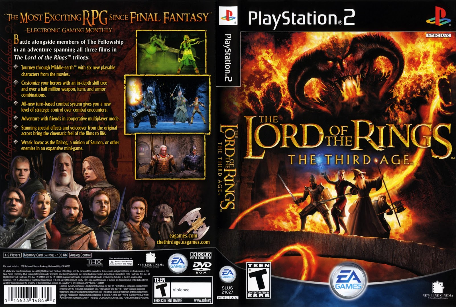 Lord Of The Rings The Third Age Android