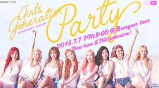 Nonton Keseruan Streaming Rilis Live dan Video Musik Album 'Party' Terbaru dari Comeback SNSD