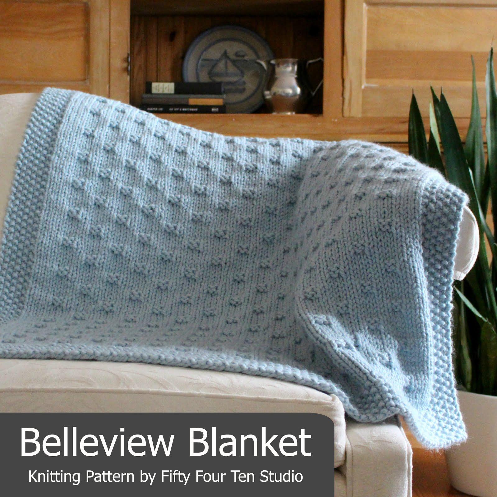 Fifty Four Ten Studio: The Boulevard Blanket - Free Chunky Knitting ...