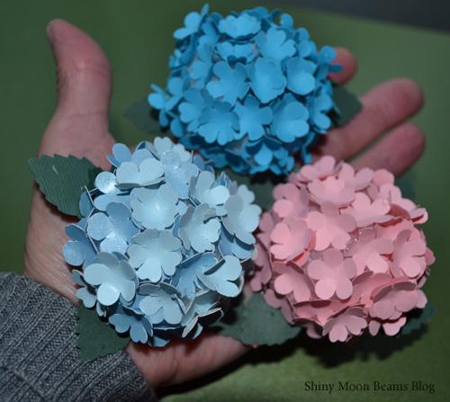Shiny moon beams blog realistic paper flower wreath how to mightylinksfo