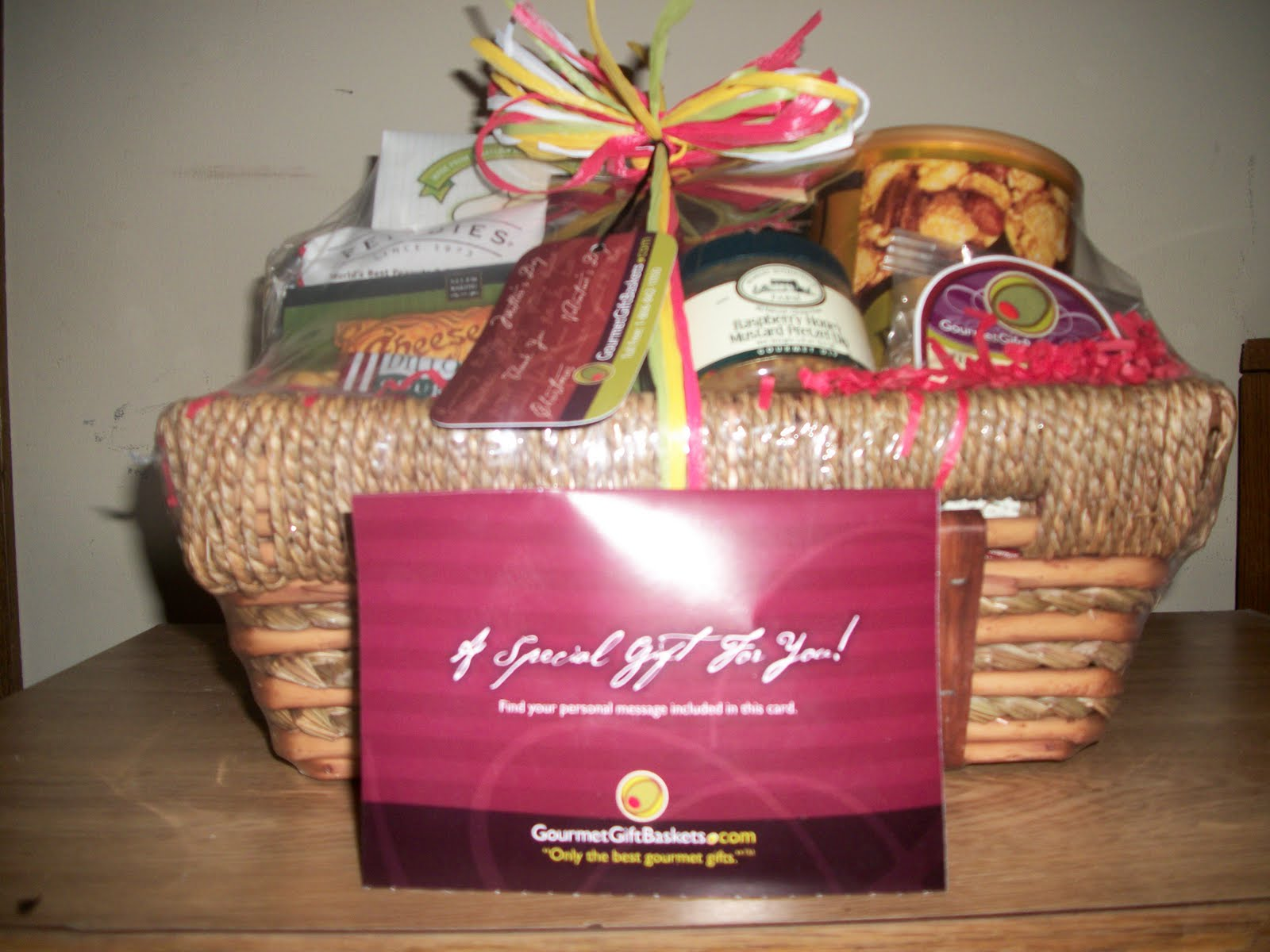 Once Upon A Review: Gourmet Gift Baskets Review&Giveaway! - Ends 9/12