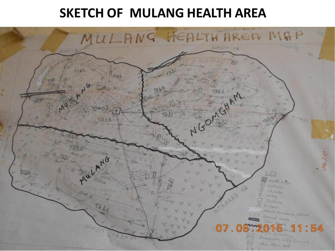 description of mulang health area in bamenda health district the population of mulang health area for 2015 is estimated at 29905 inhabitants