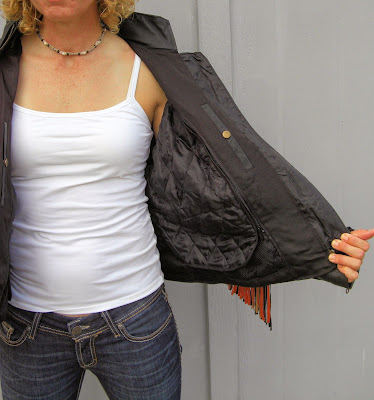 Ladies Top Grain Motorcycle Leather Jacket Item LJ286 Leather