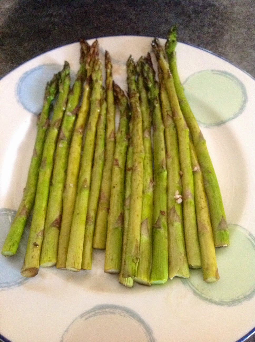 Clean Eating, Balsamic Garlic Asparagus