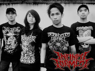 Infinite Torment Band slamming brutal death metal batu malang foto logo artwork wallpaper