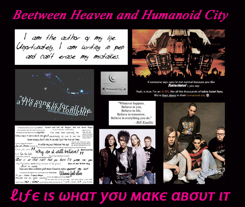 Beetween Heaven and Humanoid City