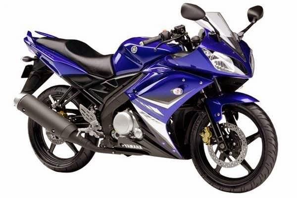 Yamaha R 250 blue Varient