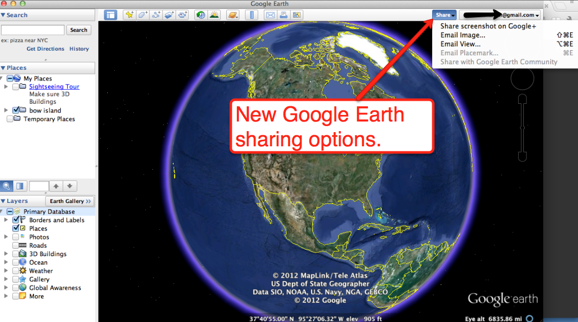 Free Technology for Teachers Easier Location Sharing in Google Earth – Maps in Google Earth