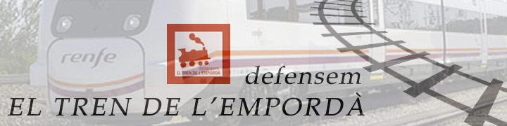 Defensem el Tren de l'Empordà convoca a una concentració  a l'estació de Portbou el 8 de juliol