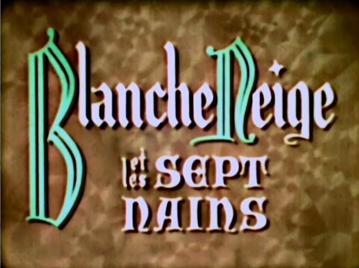 filmic light snow white archive 1938 french dub of snow white