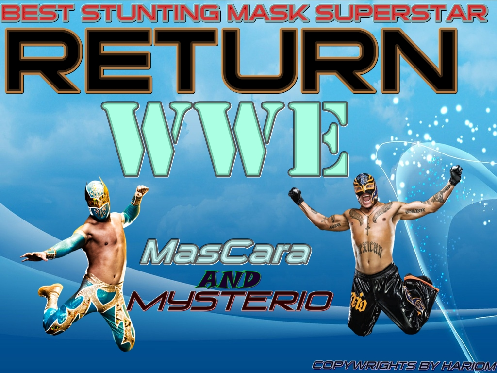 New Sin Cara And Rey Mysterio Highflyer Returning Wallpaper By Hariom Design About Best Stunting Mask Superstar Size 489 KB