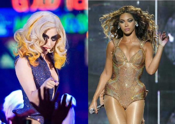 BEYONCE, LADY GAGA