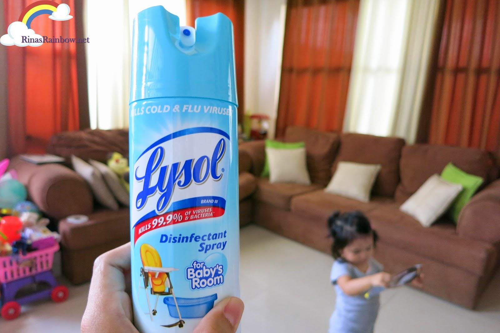 lysol baby spray
