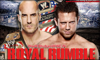 Royal Rumble 2013 » Matches » Antonio Cesaro vs The Miz (US Championship - YouTube Pre-Show)