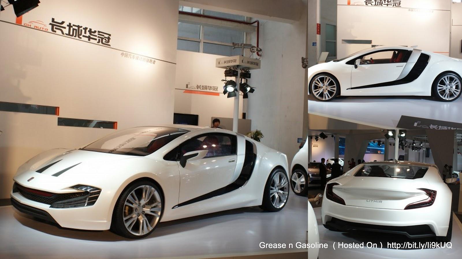 Ch Auto 39 S Lithia Ev Concept Sports Car Grease N Gasoline