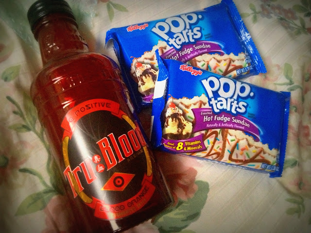 Tru Blood, True Blood, drink, Pop Tarts, American,