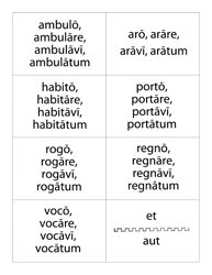 Latin Flashcards