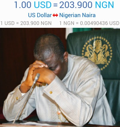 naira devaluation 2015