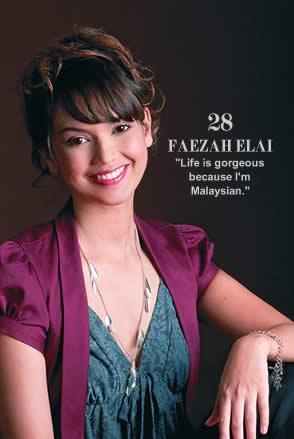 Profil Biodata Faezah Elai