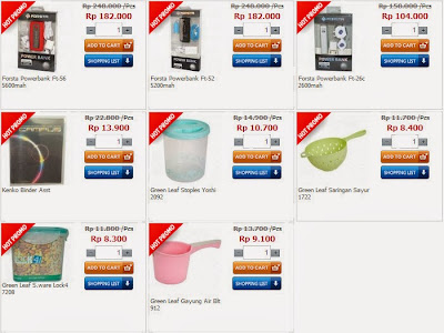 Produk Promo Alfaonline.com harga lebih murah