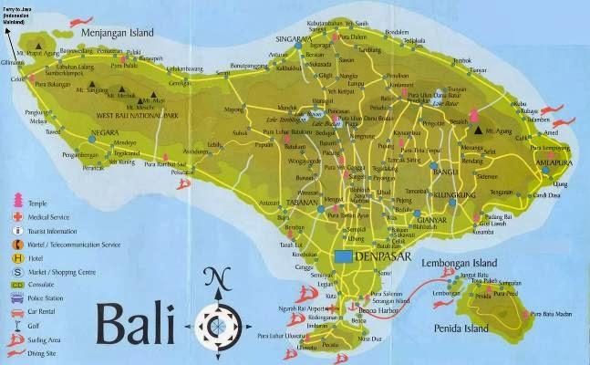 Daftar referensi objek wisata di pulau Bali
