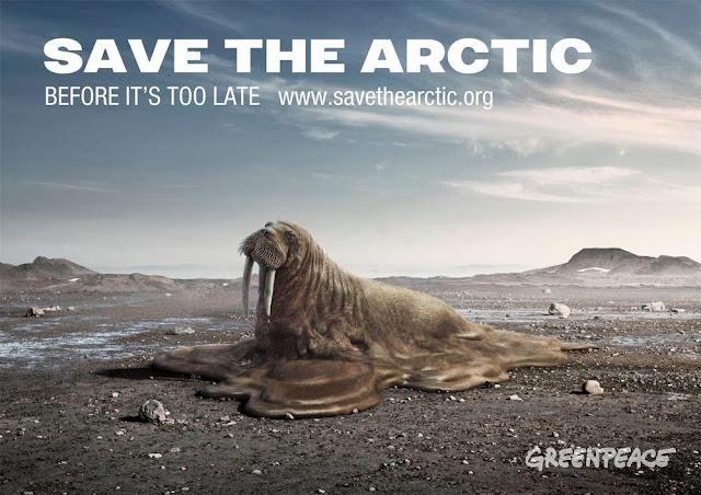 La realidad ecológica del Artico (extracciones de petroleo)