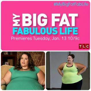 fat and fabulous Hollywoodlifecom has an exclusive preview of the jan 9 episode of 'my big fat fabulous life.