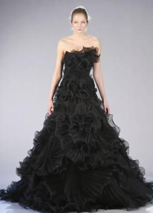 Black Wedding Dress, New Trends In Wedding Dress | Weddings Made ...