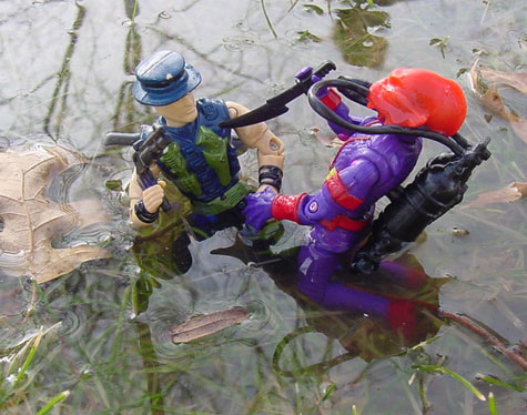 1989 Night Force Muskrat, TRU EXclusive, Funskool Hydro Viper