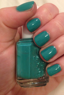 Essie, Essie Naughty Nautical, nail polish, nail varnish, nail lacquer, manicure, mani monday, #manimonday, nails