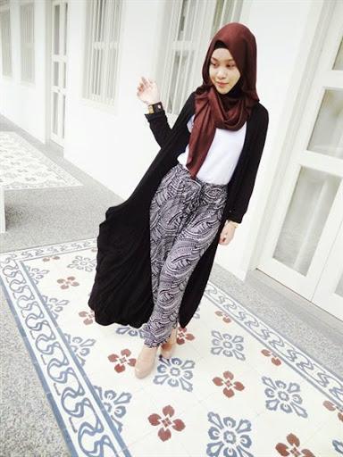 Inilah Model Busana Hijab Casual Remaja Terbaru Fashion