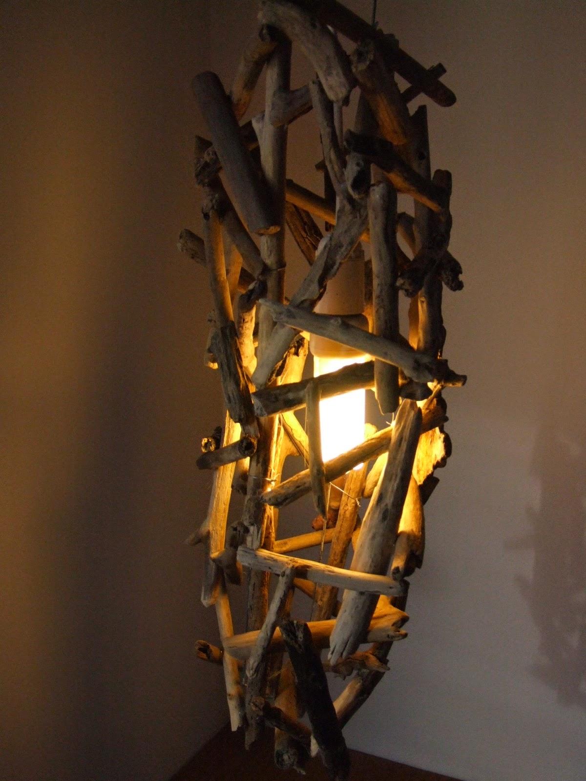Lampade Legno Del Mare: Lampade del mare legno lampada due braccia in.