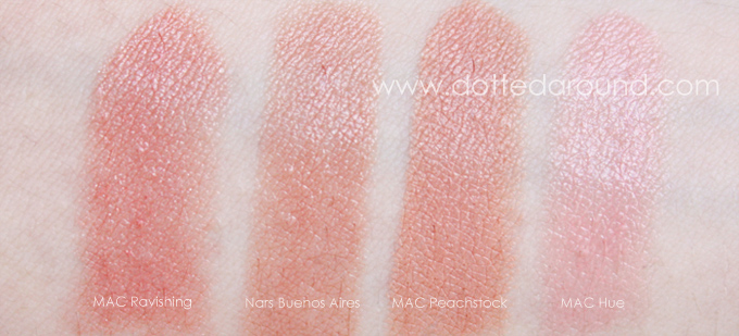 Nars Buenos Aires velvet gloss comparison dupe