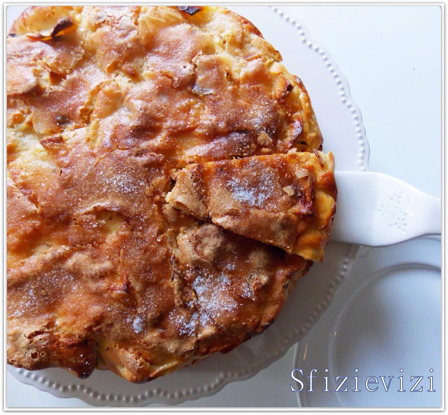 torta da colazione con le mele  (senza olio e senza burro) yogurt di soia e gocce di cioccolato fondente - ricetta senza latticini -