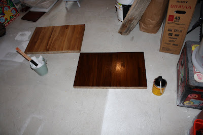 I However Was A Newbie To Staining So Practiced My Technique On Few Ss Of The Butcher Block That Were Left Over You Can