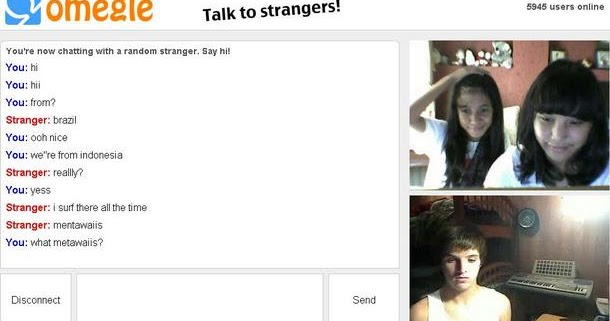chat rooms omegle