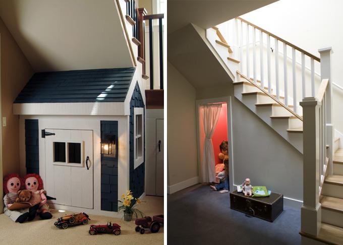 C mo aprovechar el espacio bajo una escalera for Cama bajo escalera