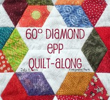 60° Diamond EPP Quilt-Along