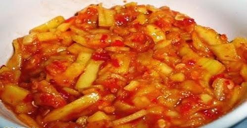 Resep Membuat Sambal Mangga, Mudah dan Instan