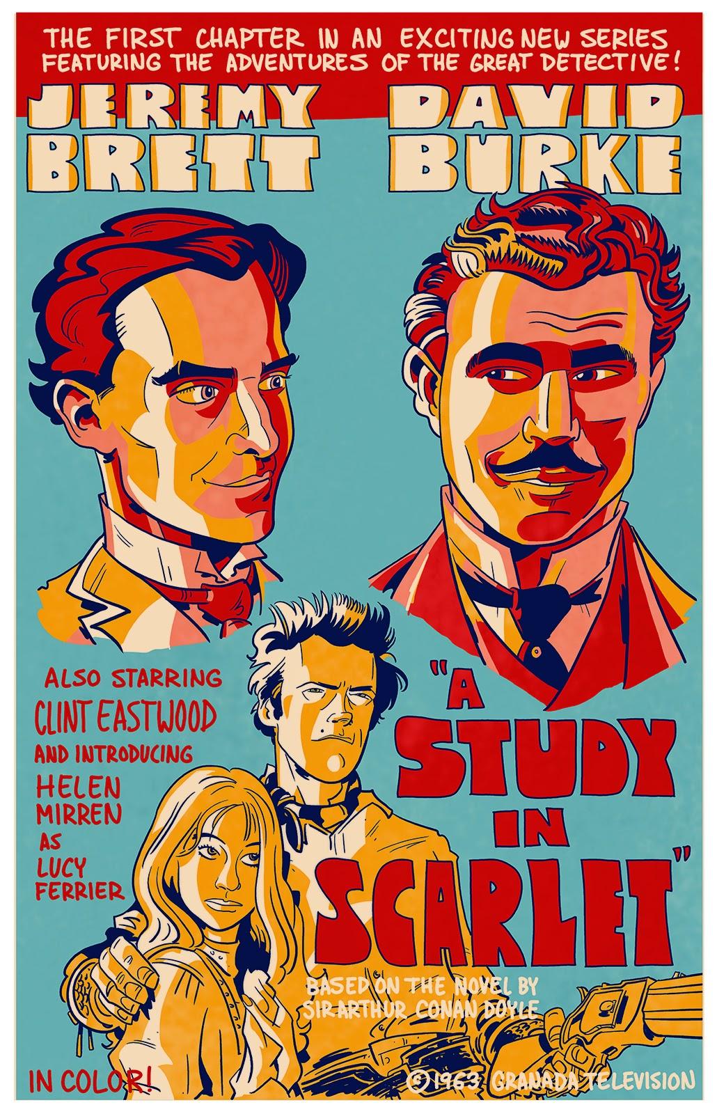 Sherlock Holmes - A Study in Scarlet (1968) - YouTube