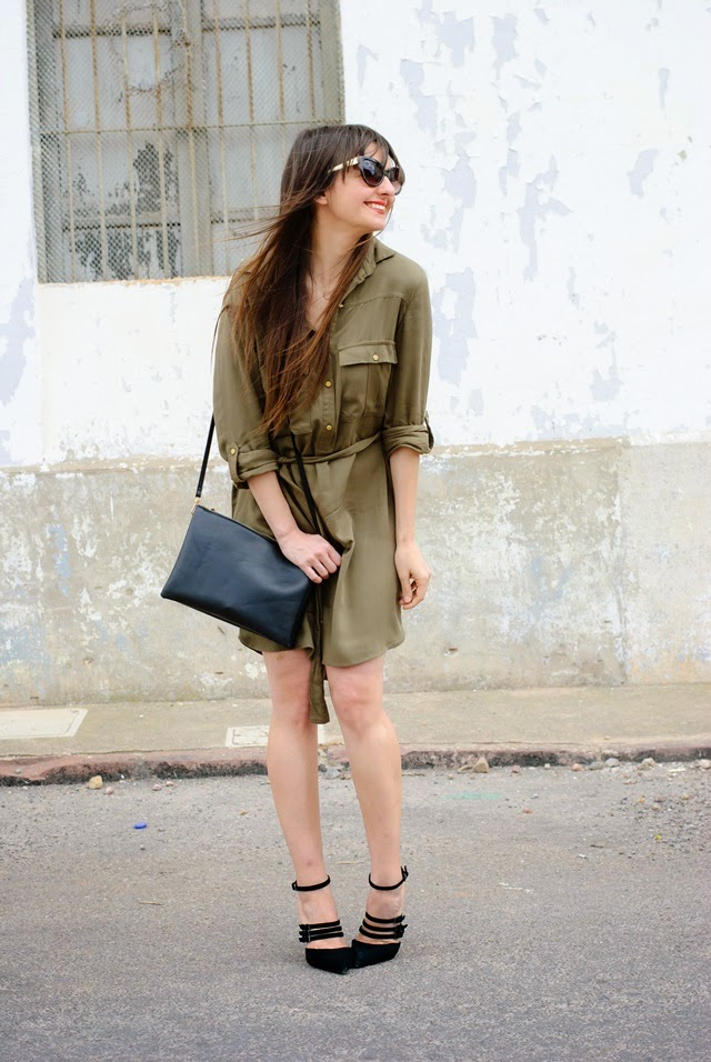 Green Dress Pimkie