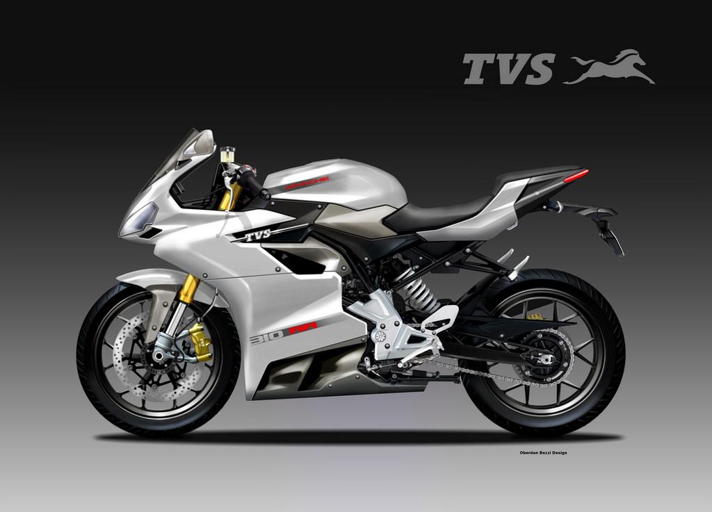 Motosketches tvs apache 310 rr concept