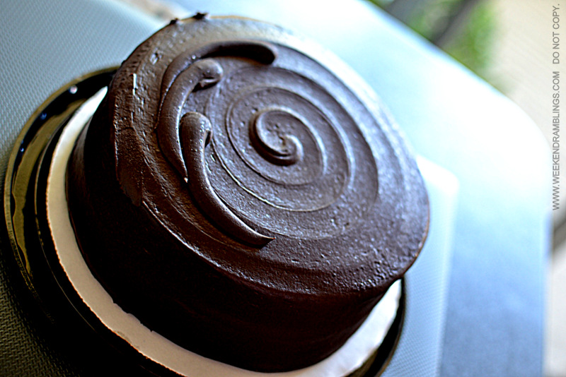 Delicious Chocolate Cake from Whole Foods