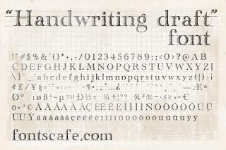Create Handwriting Font