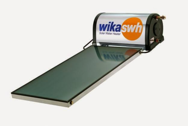 salah satu gambar produk wika solar heater pemanas air