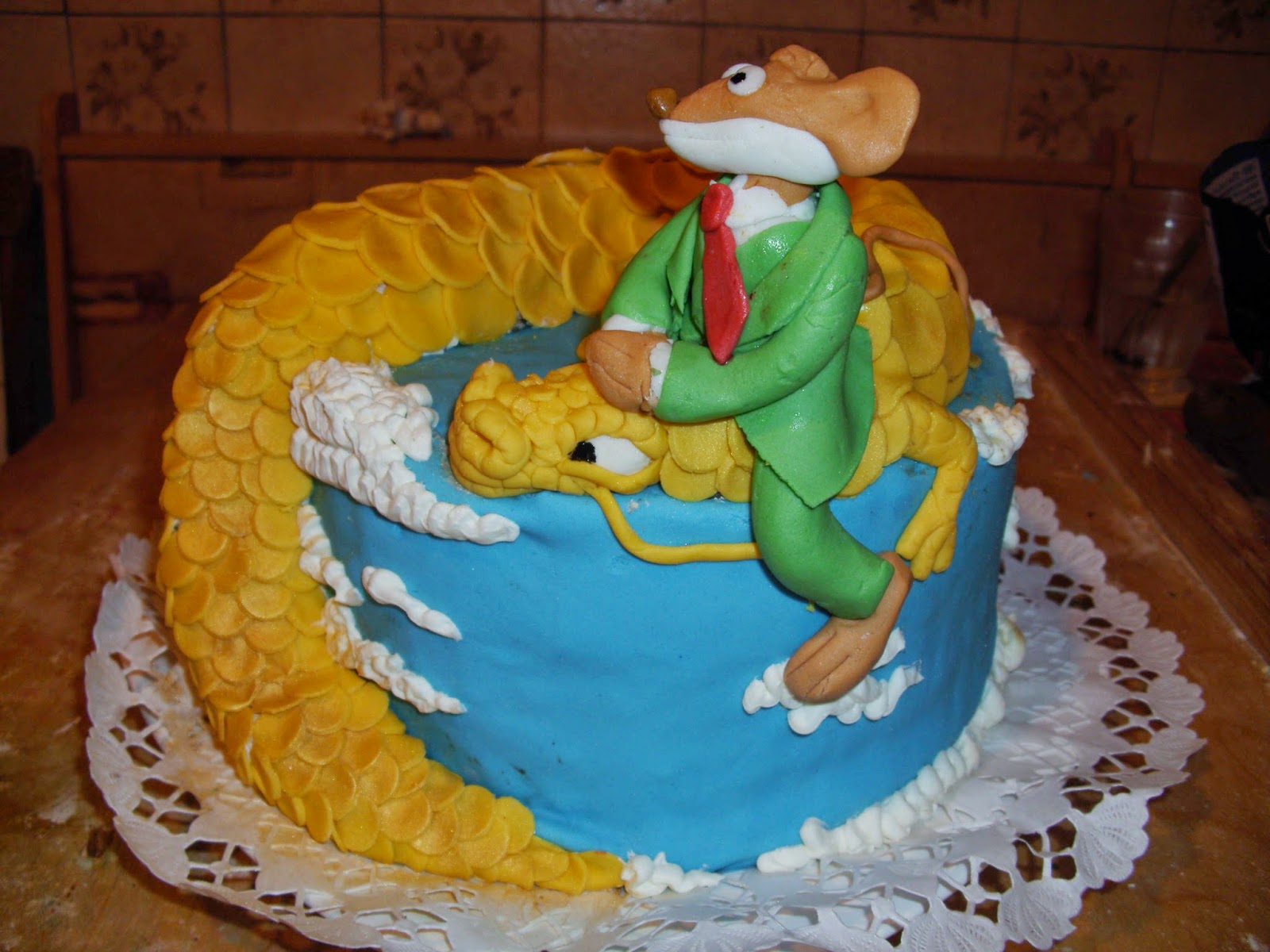 geronimo stilton cake