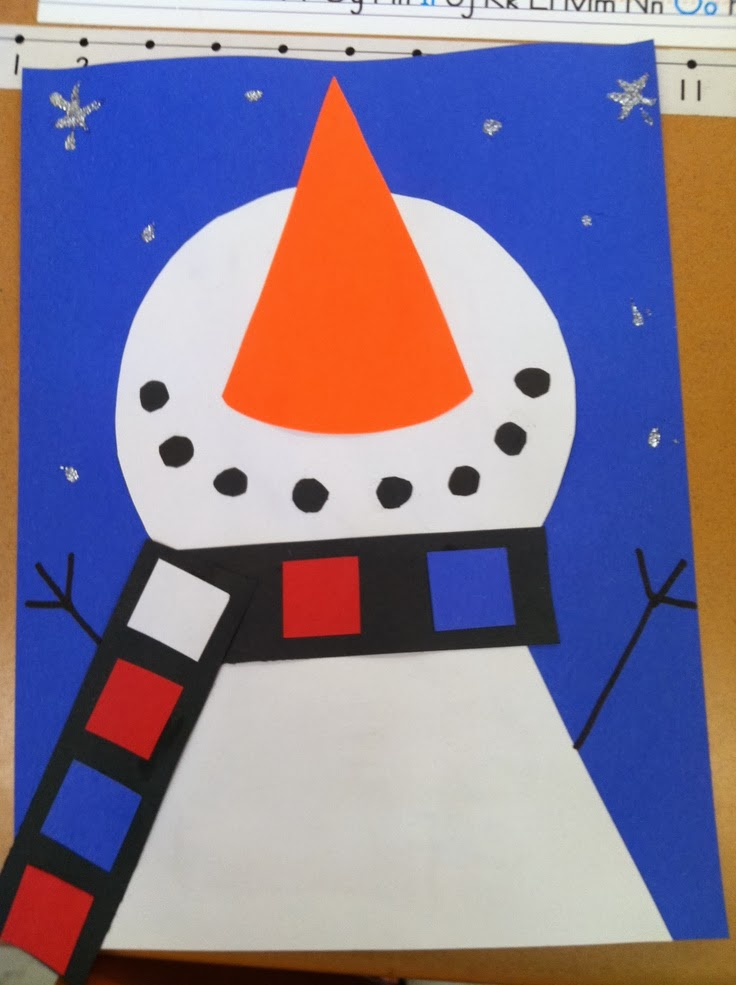 The barefoot teacher let it snow winter activities for