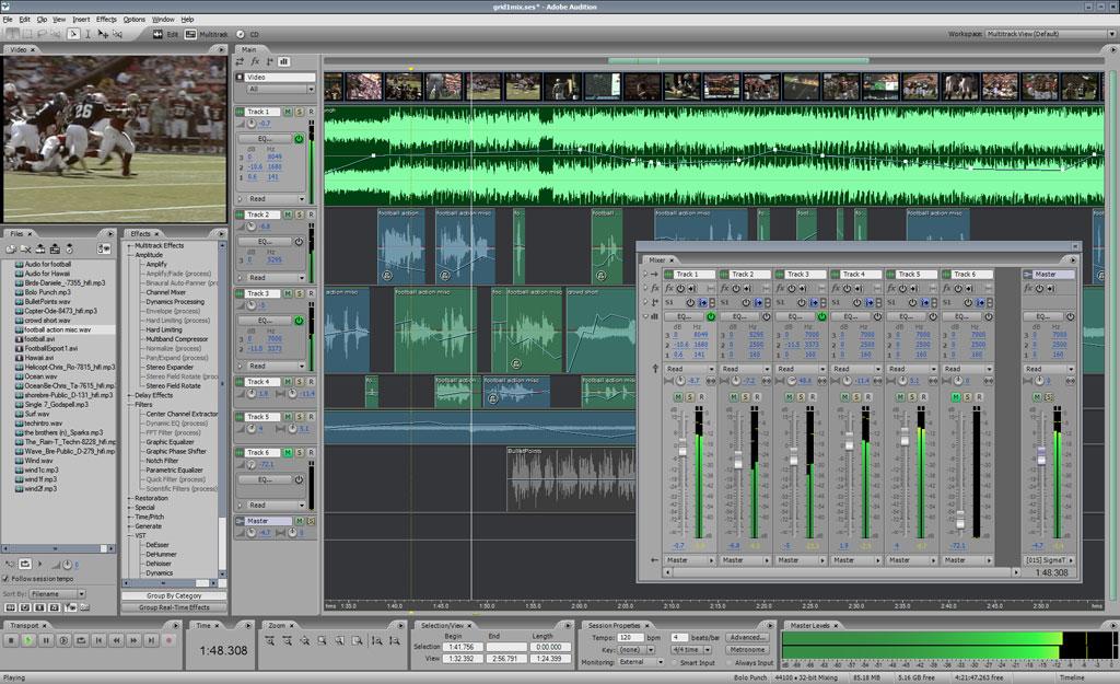 Rekaman Dengan Adobe Audition