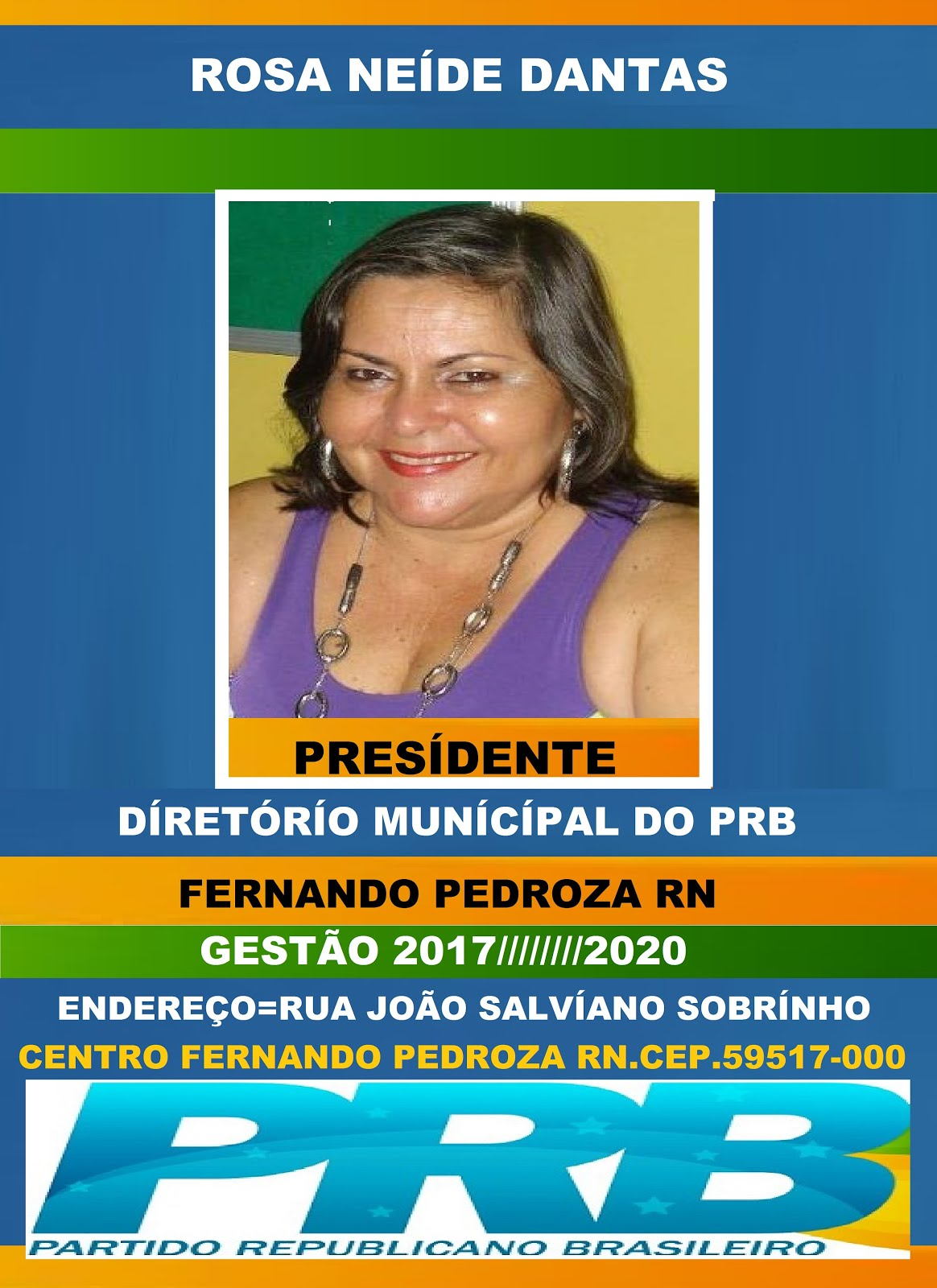 ROSA NEÍDE DANTAS FERNANDO PEDROZA RN