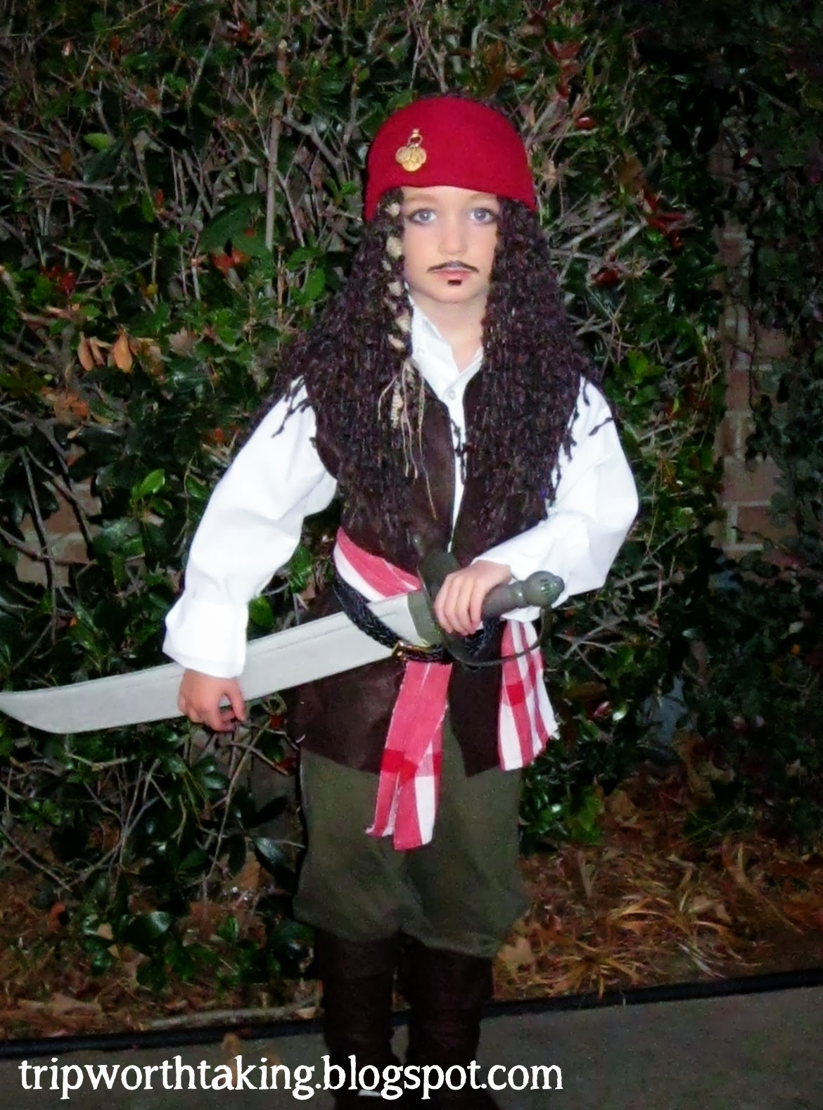 DIY Captain Jack Sparrow Costume  sc 1 st  Life Is A Trip Worth Taking & Life Is A Trip Worth Taking: DIY Halloween Costumes for Boys